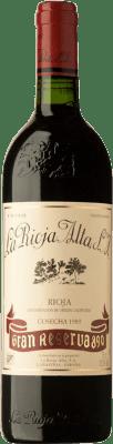 165,95 € Free Shipping | Red wine Rioja Alta 890 Gran Reserva 1989 D.O.Ca. Rioja Spain Tempranillo Bottle 75 cl