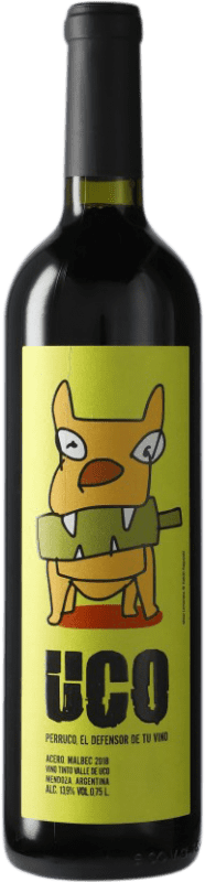 9,95 € Free Shipping | Red wine Valle de Uco Acero I.G. Mendoza Mendoza Argentina Bottle 75 cl