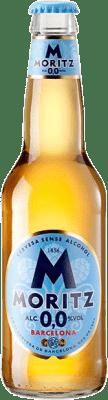 0,95 € Kostenloser Versand   Bier Cervezas Moritz Aigua de Moritz Katalonien Spanien Botellín Tercio 33 cl