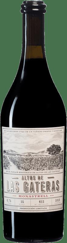 37,95 € Envoi gratuit | Vin rouge Castaño Altos de las Gateras D.O. Yecla Espagne Monastrell Bouteille 75 cl