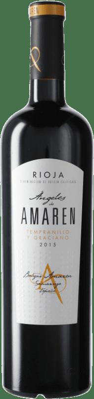 17,95 € Free Shipping | Red wine Luis Cañas Ángeles de Amaren D.O.Ca. Rioja Spain Bottle 75 cl