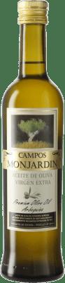 4,95 € Envío gratis | Aceite Castillo de Monjardín Arbequina Extra Navarra España Botella Medium 50 cl