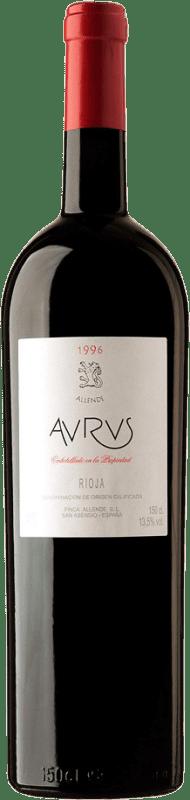 2 941,95 € Envoi gratuit | Vin rouge Allende Aurus 1996 D.O.Ca. Rioja Espagne Tempranillo, Graciano Botella Melchor 18 L