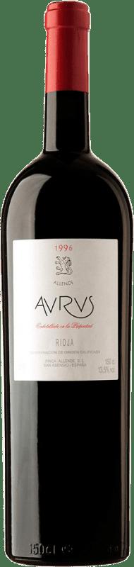 4 458,95 € Envoi gratuit | Vin rouge Allende Aurus 1996 D.O.Ca. Rioja Espagne Tempranillo, Graciano Botella Goliath 27 L