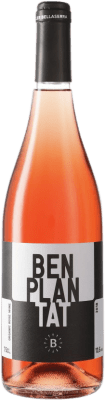 9,95 € Free Shipping | Rosé wine Bellaserra Benplantat Rosat Spain Merlot, Picapoll Black Bottle 75 cl
