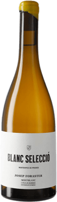 17,95 € Free Shipping | White wine Josep Foraster Blanc Selecció D.O. Conca de Barberà Catalonia Spain Grenache White, Macabeo, Chardonnay Bottle 75 cl