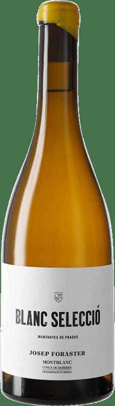 9,95 € Free Shipping | White wine Josep Foraster Blanc Selecció D.O. Conca de Barberà Catalonia Spain Grenache White, Macabeo, Chardonnay Bottle 75 cl