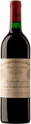 544,95 € Free Shipping | Red wine Château Cheval Blanc 1986 A.O.C. Saint-Émilion Bordeaux France Merlot, Cabernet Franc Bottle 75 cl