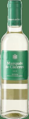 3,95 € Envoi gratuit | Vin blanc Marqués de Cáceres Blanc D.O.Ca. Rioja Espagne Viura Demi Bouteille 37 cl