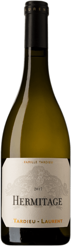 85,95 € Free Shipping | White wine Tardieu-Laurent Blanc A.O.C. Hermitage France Roussanne, Marsanne Bottle 75 cl