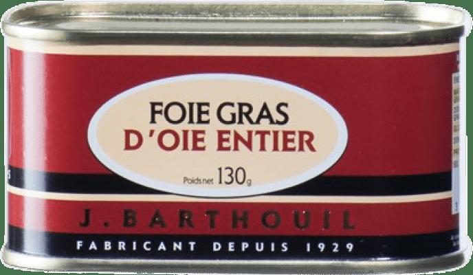 39,95 € Envío gratis | Foie y Patés J. Barthouil Bloc de Foie Oca Francia