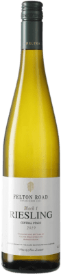 44,95 € Free Shipping | White wine Felton Road Block 1 I.G. Central Otago Central Otago New Zealand Riesling Bottle 75 cl