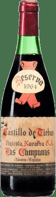 67,95 € Free Shipping | Red wine Vinícola Navarra Campanas Reserva 1964 D.O. Navarra Navarre Spain Tempranillo, Cabernet Sauvignon Bottle 75 cl