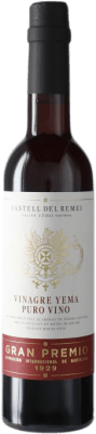 6,95 € Envío gratis | Vinagre Castell del Remei Castell del Remei Yema España Media Botella 37 cl