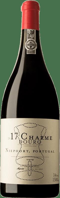 159,95 € Kostenloser Versand | Rotwein Niepoort Charme I.G. Douro Douro Portugal Touriga Franca, Tinta Roriz Magnum-Flasche 1,5 L