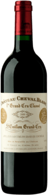 984,95 € Free Shipping | Red wine Château Cheval Château Cheval Blanc 2000 Bordeaux France Merlot, Cabernet Franc Bottle 75 cl