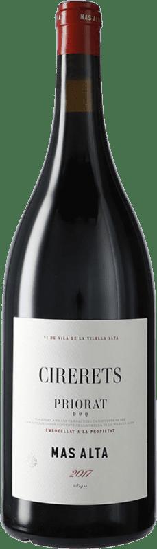 82,95 € Envío gratis | Vino tinto Mas Alta Cirerets D.O.Ca. Priorat Cataluña España Garnacha, Cariñena Botella Mágnum 1,5 L