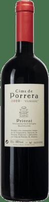 79,95 € Envío gratis | Vino tinto Cims de Porrera Clàssic 2000 D.O.Ca. Priorat Cataluña España Garnacha, Cabernet Sauvignon, Cariñena Botella 75 cl