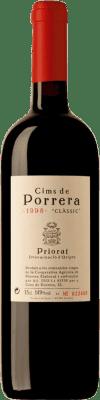 107,95 € Envío gratis | Vino tinto Cims de Porrera Clàssic 1998 D.O.Ca. Priorat Cataluña España Garnacha, Cabernet Sauvignon, Cariñena Botella 75 cl