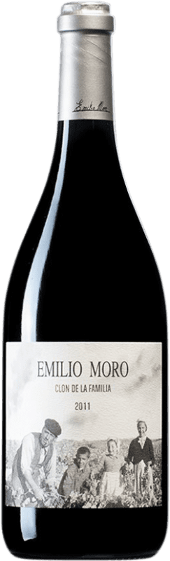 225,95 € Free Shipping | Red wine Emilio Moro Clon de la Família D.O. Ribera del Duero Castilla y León Spain Tempranillo Bottle 75 cl