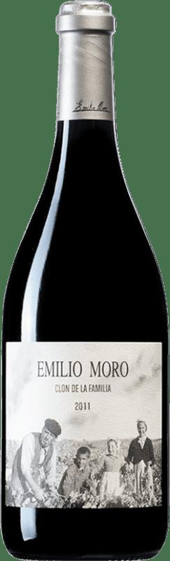 225,95 € Envío gratis | Vino tinto Emilio Moro Clon de la Família D.O. Ribera del Duero Castilla y León España Tempranillo Botella 75 cl