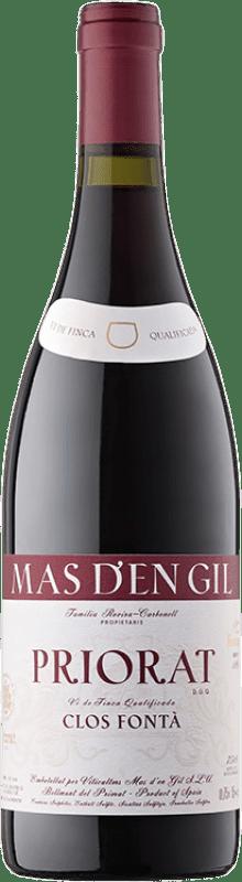 52,95 € Free Shipping | Red wine Mas d'en Gil Clos Fontà D.O.Ca. Priorat Catalonia Spain Grenache, Cabernet Sauvignon, Carignan, Grenache Hairy Bottle 75 cl