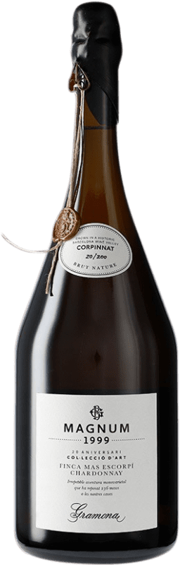 372,95 € Free Shipping | White sparkling Gramona Col·lecció d'Art 1999 Corpinnat Spain Chardonnay Magnum Bottle 1,5 L