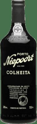39,95 € Kostenloser Versand | Rotwein Niepoort Colheita I.G. Porto Porto Portugal Touriga Franca, Touriga Nacional, Tinta Roriz Flasche 75 cl