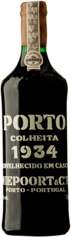 1 191,95 € Envoi gratuit   Vin rouge Niepoort Colheita 1934 I.G. Porto Porto Portugal Touriga Franca, Touriga Nacional, Tinta Roriz Bouteille 75 cl