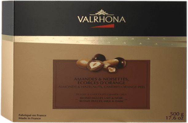 33,95 € Envío gratis | Chocolates y Bombones Valrhona Collection Francia