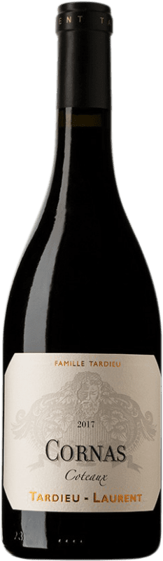 58,95 € Free Shipping | Red wine Tardieu-Laurent Coteaux A.O.C. Cornas France Syrah, Serine Bottle 75 cl