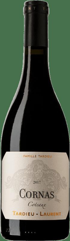 58,95 € Envío gratis | Vino tinto Tardieu-Laurent Coteaux A.O.C. Cornas Francia Syrah, Serine Botella 75 cl