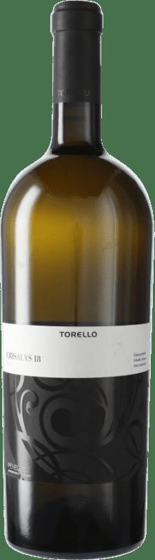 17,95 € Kostenloser Versand | Weißwein Torelló Crisalys D.O. Penedès Katalonien Spanien Xarel·lo Magnum-Flasche 1,5 L