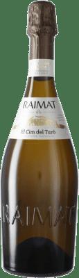 18,95 € Free Shipping | White sparkling Raimat El Cim del Turó D.O. Cava Spain Pinot Black, Chardonnay Bottle 75 cl