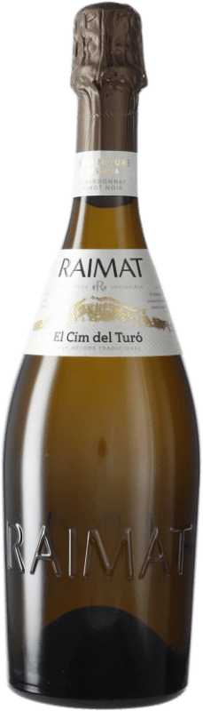9,95 € Envoi gratuit | Blanc moussant Raimat El Cim del Turó D.O. Cava Espagne Pinot Noir, Chardonnay Bouteille 75 cl