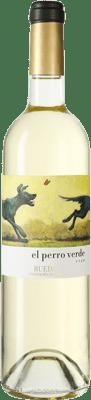 21,95 € Free Shipping | White wine Uvas Felices El Perro Verde D.O. Rueda Castilla y León Spain Verdejo Magnum Bottle 1,5 L