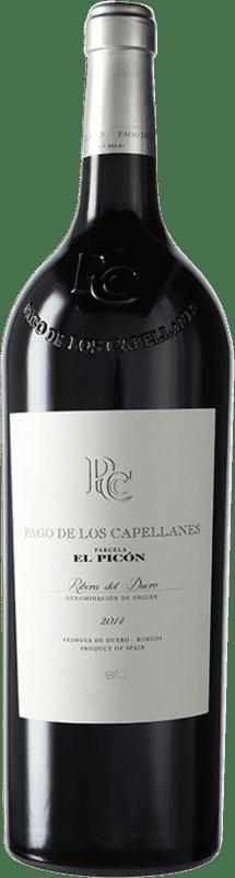 247,95 € Free Shipping | Red wine Pago de los Capellanes El Picón D.O. Ribera del Duero Castilla y León Spain Tempranillo Magnum Bottle 1,5 L