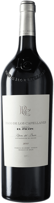247,95 € Kostenloser Versand | Rotwein Pago de los Capellanes El Picón D.O. Ribera del Duero Kastilien und León Spanien Tempranillo Magnum-Flasche 1,5 L