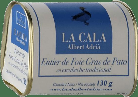 19,95 € Envío gratis | Foie y Patés La Cala Entier de Foie Gras en Escabeche España