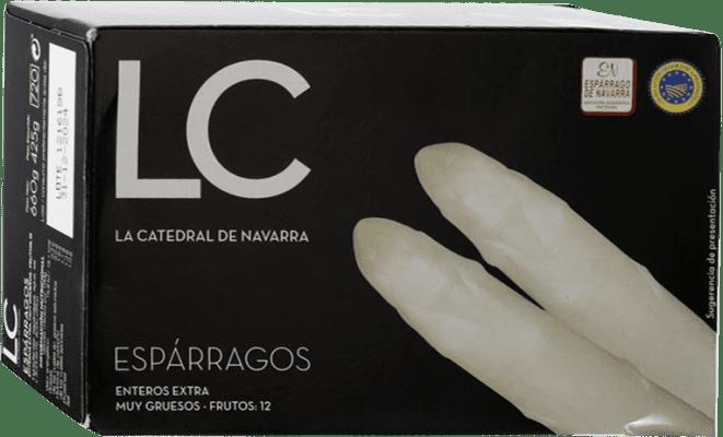 21,95 € Envío gratis | Conservas Vegetales La Catedral Espárragos España 12 Piezas