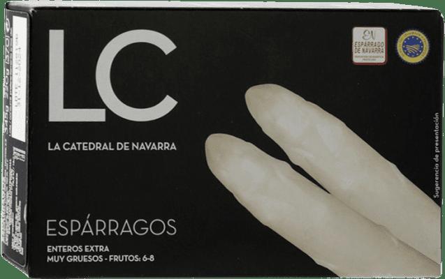 8,95 € Envío gratis | Conservas Vegetales La Catedral Espárragos España 6/8 Piezas