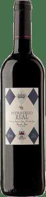 8,95 € Free Shipping | Red wine Dominio de Eguren Estratego Real Negre Spain Tempranillo Bottle 75 cl