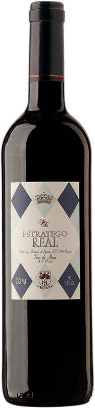 3,95 € Free Shipping | Red wine Dominio de Eguren Estratego Real Negre Spain Tempranillo Bottle 75 cl