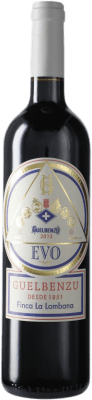 19,95 € Free Shipping | Red wine Guelbenzu Evo D.O. Navarra Navarre Spain Bottle 75 cl