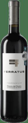 27,95 € Free Shipping | Red wine Cuevas Jiménez Ferratus D.O. Ribera del Duero Castilla y León Spain Bottle 75 cl