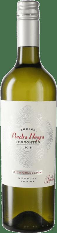 8,95 € Envío gratis | Vino blanco Piedra Negra François Lurton Torrontés I.G. Mendoza Mendoza Argentina Botella 75 cl