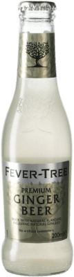 1,95 € Envío gratis | Refrescos Fever-Tree Ginger Beer Reino Unido Botellín 20 cl
