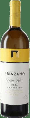 104,95 € Free Shipping | White wine Arínzano Gran Vino D.O. Navarra Navarre Spain Tempranillo, Merlot, Cabernet Sauvignon Bottle 75 cl