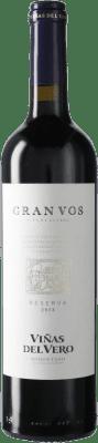 18,95 € Free Shipping | Red wine Viñas del Vero Gran VOS D.O. Somontano Catalonia Spain Bottle 75 cl