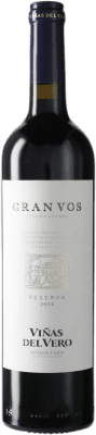 18,95 € Kostenloser Versand | Rotwein Viñas del Vero Gran VOS D.O. Somontano Katalonien Spanien Flasche 75 cl